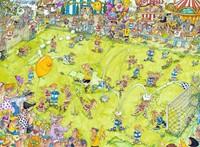 Voetbalwedstrijd Puzzel (500 stukjes)-2