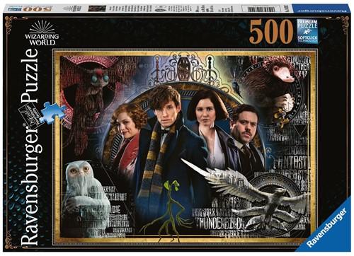 Fantastic Beasts Puzzel (500 stukjes)