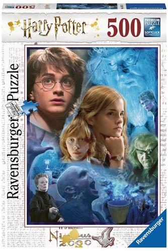 Harry Potter - Harry in Hogwarts Puzzel (500 stukjes) (Doos beschadigd)