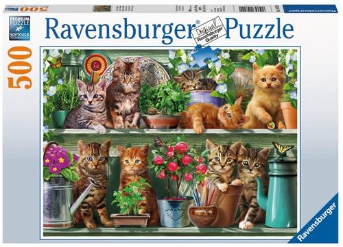 Katjes In Het Rek Puzzel (500 stukjes)