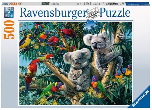 Koalas In De Boom Puzzel (500 stukjes)