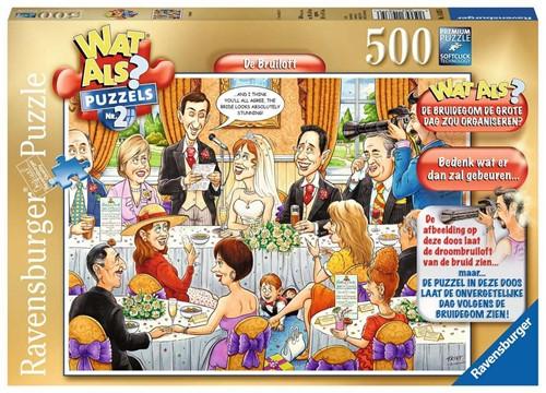 Wat Als? 2 - Bruiloft Puzzel (500 stukjes)