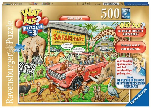 Wat Als? 3 - Safari Puzzel (500 stukjes)