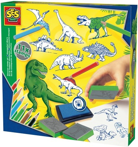 SES Stempelset Dinos