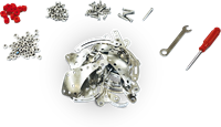 SES Metalen Constructieset - Kruipende Dieren-2