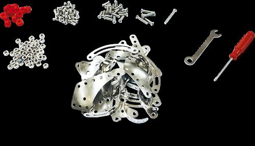 SES Metalen Constructieset - Kruipende Dieren