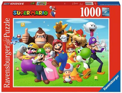 Super Mario Puzzel (1000 stukjes)