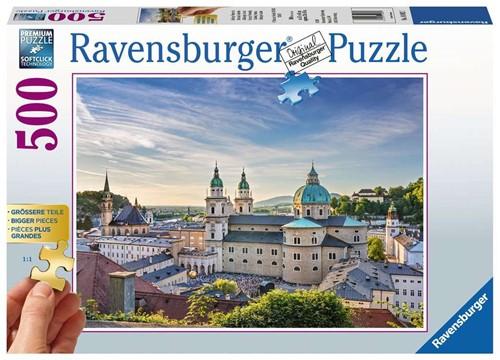 Salzburg, Oostenrijk (Gold Edition) Puzzel (500 stukjes)