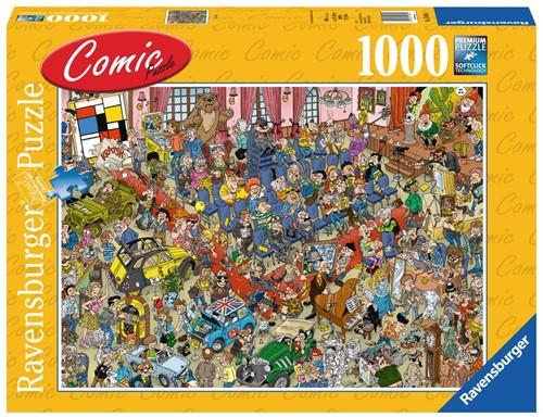 Comic Puzzel - De Veiling Puzzel (1000 stukjes)