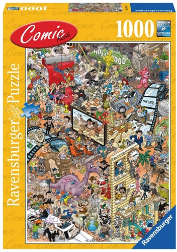 Comic Puzzel - Hollywood Puzzel (1000 stukjes)