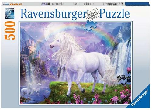 De Vallei van de Regenboog Puzzel (500 stukjes)