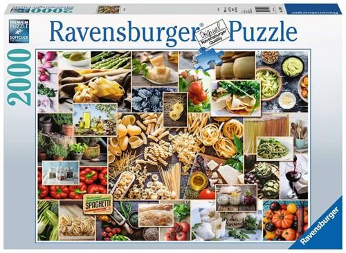 Food Collage Puzzel (2000 stukjes)