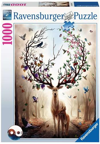 Magisch Hert Puzzel (1000 stukjes)