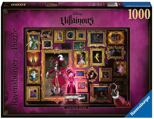 Villainous - Captain Hook Puzzel (1000 stukjes)