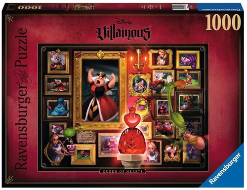 Villainous - Queen of Hearts Puzzel (1000 stukjes)