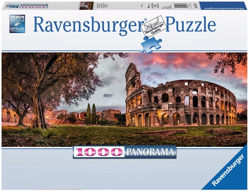Europese Wonderen Panorama Puzzel (1000 stukjes)-1