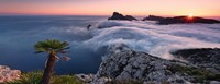 In het Wolkenmeer - Panorama Puzzel (1000 stukjes)-2