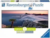 In het Wolkenmeer - Panorama Puzzel (1000 stukjes)-1