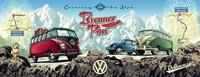 VW Bulli op de Brennerpas Puzzel (1000 stukjes)-2