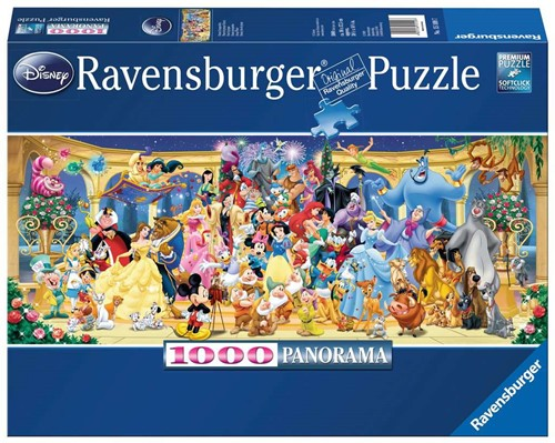 Disney Groepsfoto Puzzel (1000 stukjes)