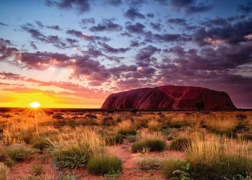 Ayers Rock Australië Puzzel (1000 stukjes)-2