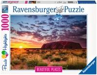 Ayers Rock Australië Puzzel (1000 stukjes)