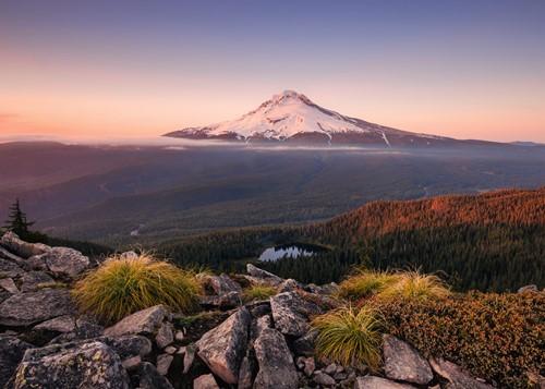 Stratovulkaan Mount Hood Puzzel (1000 stukjes)-2