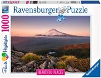 Stratovulkaan Mount Hood Puzzel (1000 stukjes)