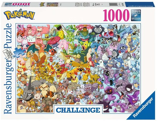 Pokemon Puzzel (1000 stukjes)