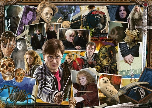 Harry Potter - Harry tegen Voldemort Puzzel (1000 stukjes)-2