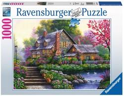 Romantische Cottage Puzzel (1000 stukjes)