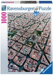 Barcelona Vanuit De Lucht Puzzel (1000 stukjes)
