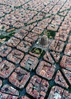 Barcelona Vanuit De Lucht Puzzel (1000 stukjes)-2