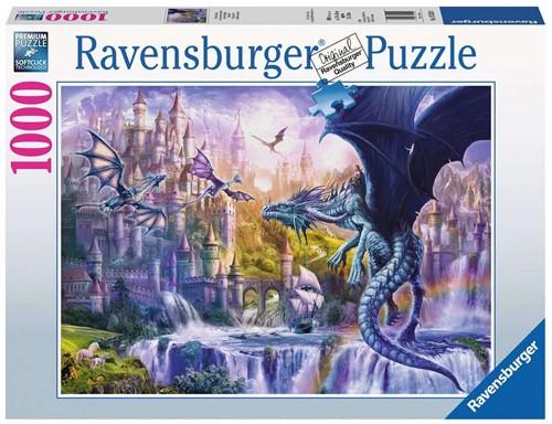 Drakenkasteel Puzzel (1000 stukjes)