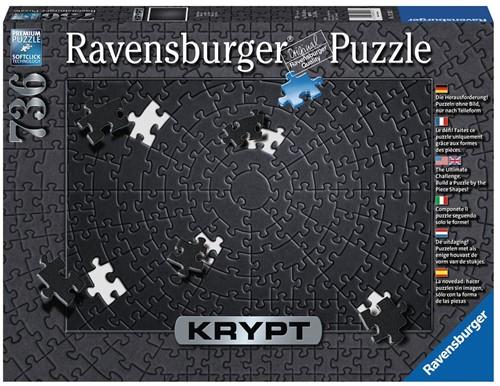 Krypt Black Puzzel (736 stukjes)