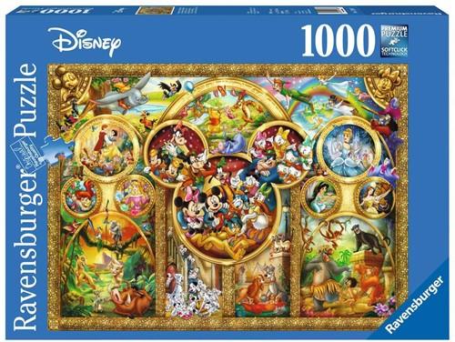 Mooiste Disney Thema's Puzzel (1000 stukjes)