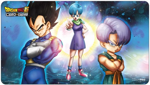 Dragon Ball Super - Playmat Bulma, Vegeta and Trunks