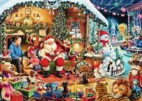 Let's Visit Santa Puzzel (1000 stukjes)-2