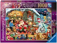 Let's Visit Santa Puzzel (1000 stukjes)