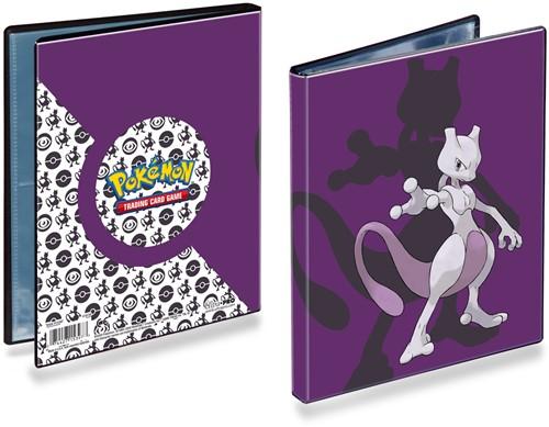Pokemon 4-Pocket Portfolio - Mewtwo