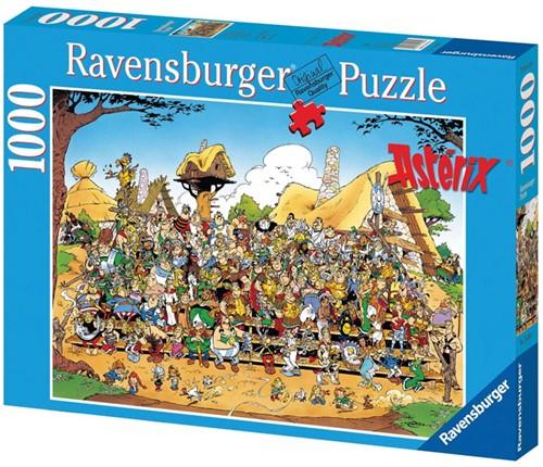 Asterix Groepsfoto Puzzel