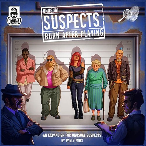 Unusual Suspects - Burn After Playing