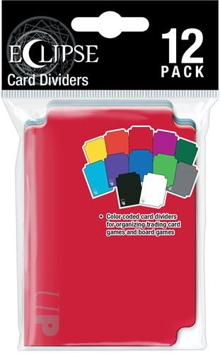 Multi-Colored Dividers Eclipse (12 stuks)