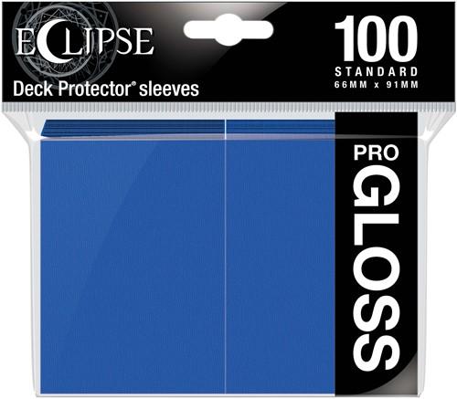 Standard Sleeves Gloss Eclipse - Blauw (100 stuks)