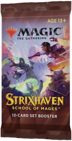 Magic The Gathering - Strixhaven School of Mages Set Boosterpack