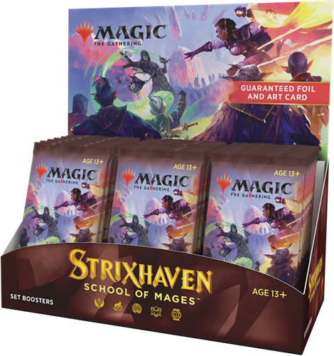 Magic The Gathering - Strixhaven School of Mages Set Boosterbox
