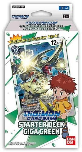 Digimon TCG S3 Starter Deck Giga Green
