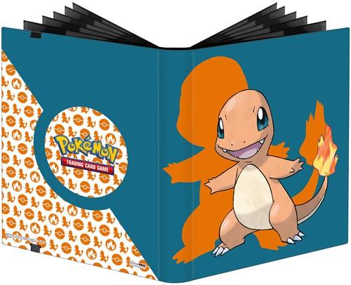 Pokemon 9-Pocket Pro-Binder - Charmander