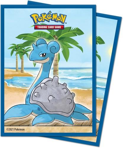 Pokemon Sleeves - Gallery Series Seaside (65 stuks)
