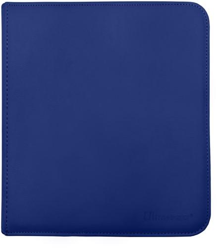 Zippered 12-Pocket Pro-Binder - Blauw